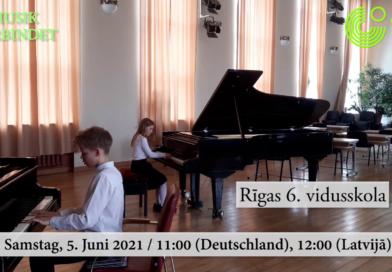 """Starptautiskais projekts """"Musik verbindet"""" (Mūzika vieno)"""